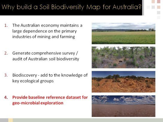 Biomes of Australian Soil Environments (BASE) | The man with the