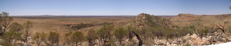 Panorama hill